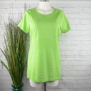 Lululemon Lime green t-shirt